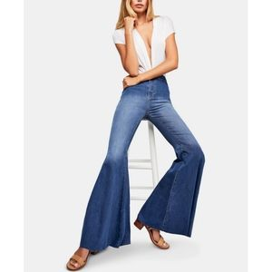 💖Free People Just Float On Flare Jeans
